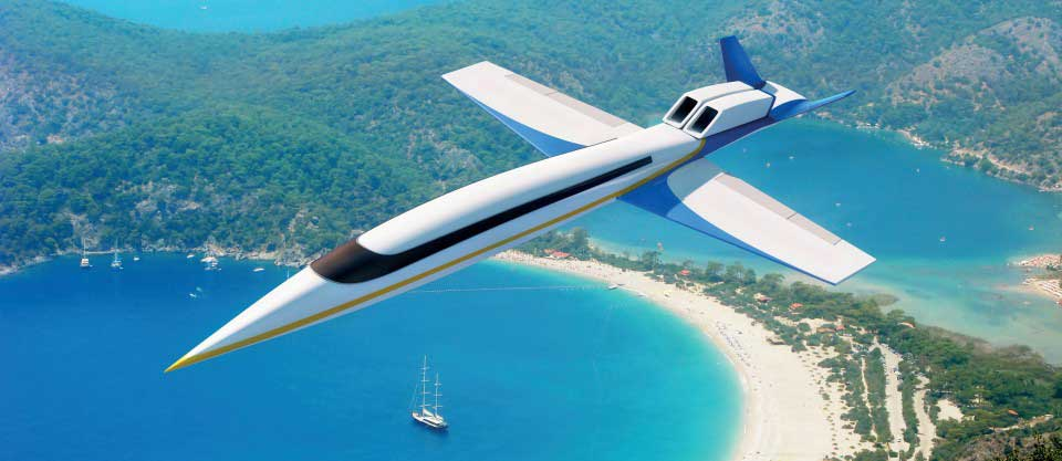 Spike Aerospace S-512 Supersonic Jet Exterior