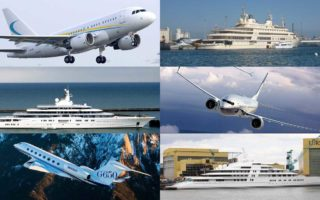 Private Jets and Yachts