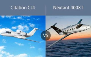 Citation CJ4 vs. Nextant 400XT