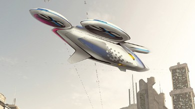 CityAirbus - Airbus Flying Taxi Concept