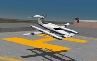 Airbus Hybrid Vertical Takeoff Vehicle