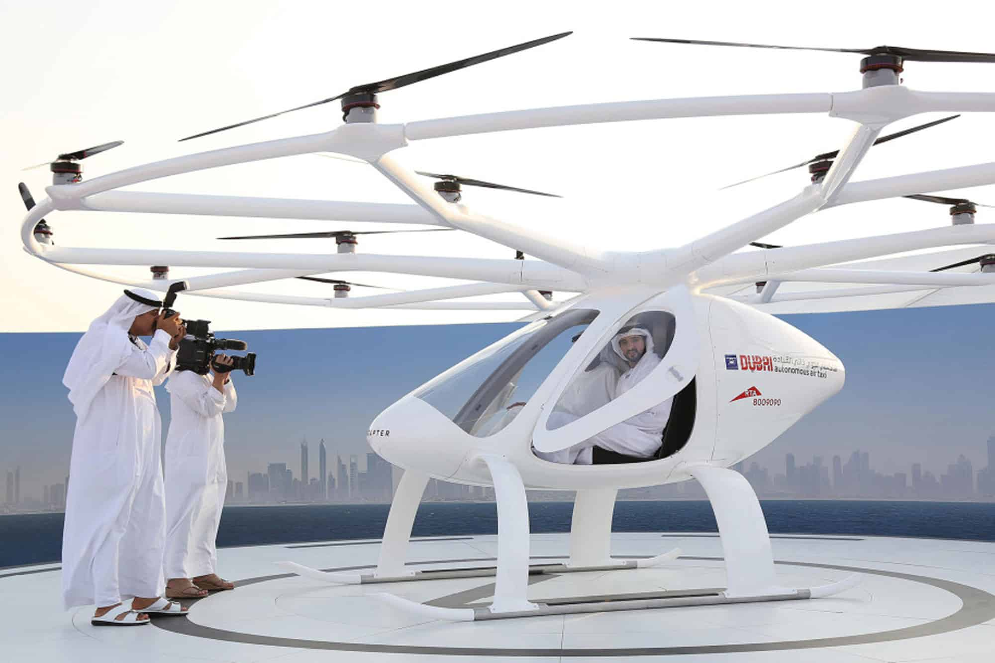 Dubai Flying Taxi