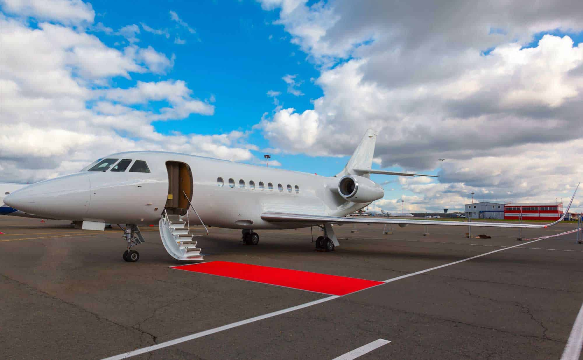 Private Jet Red Carpet