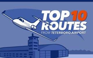 Top 10 Routes from KTEB