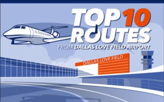 Top 10 Routes - Dallas Love Field Airport