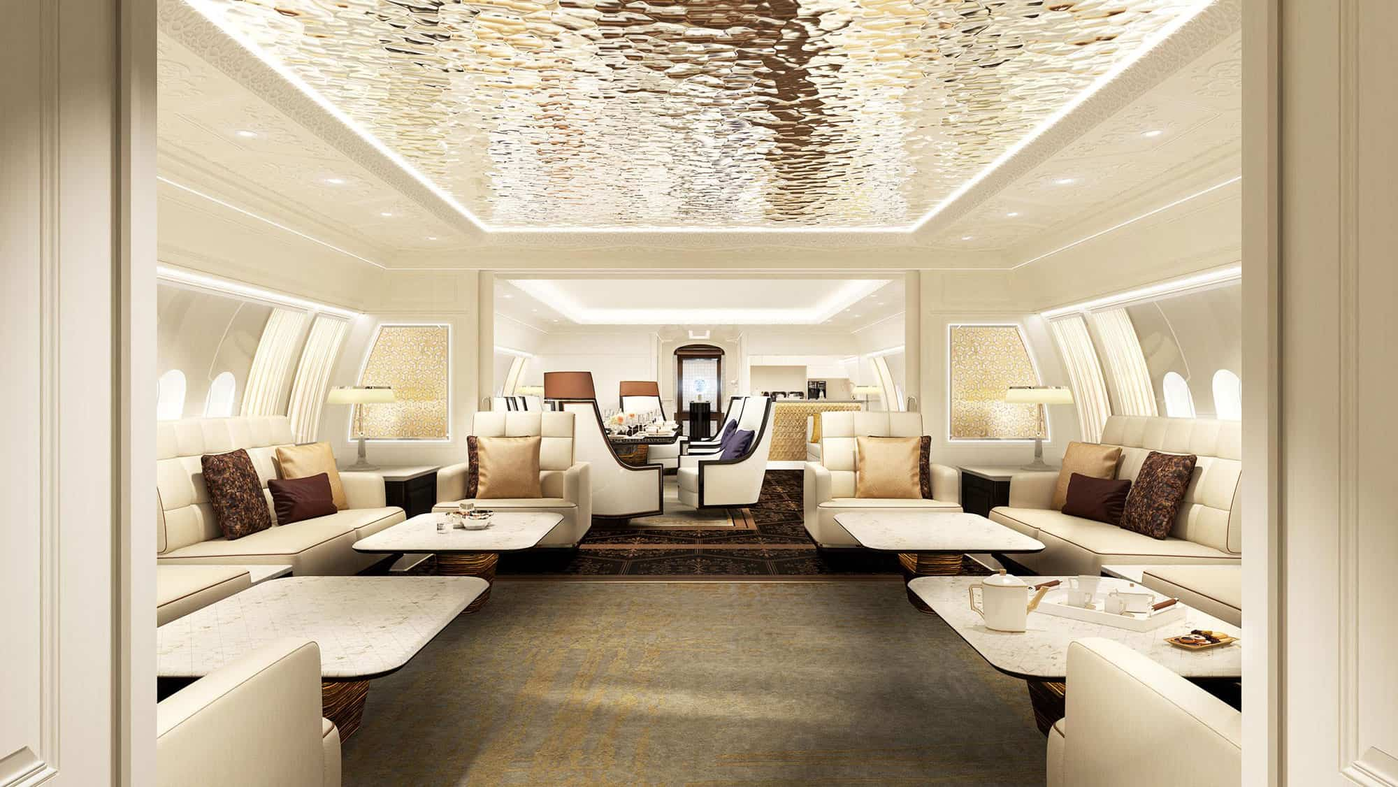 Interior Concept by Jet Aviation.