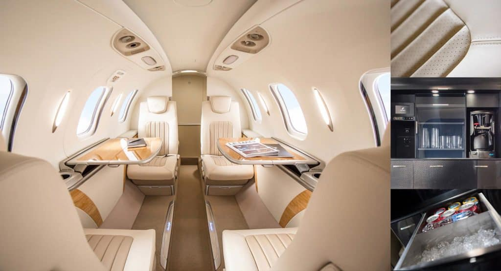 HondaJet Elite Interior