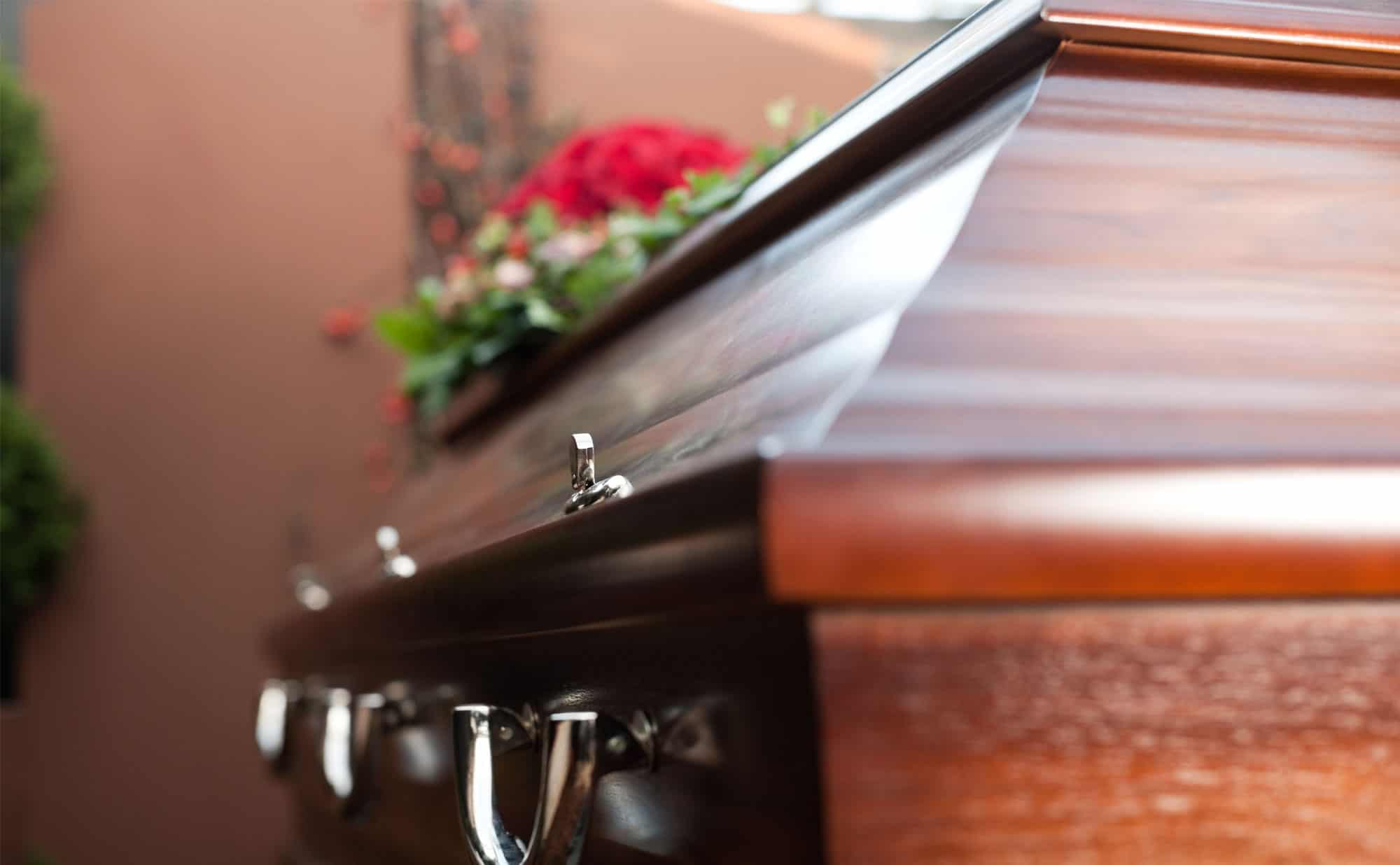 Transporting the deceased in a casket via private jet