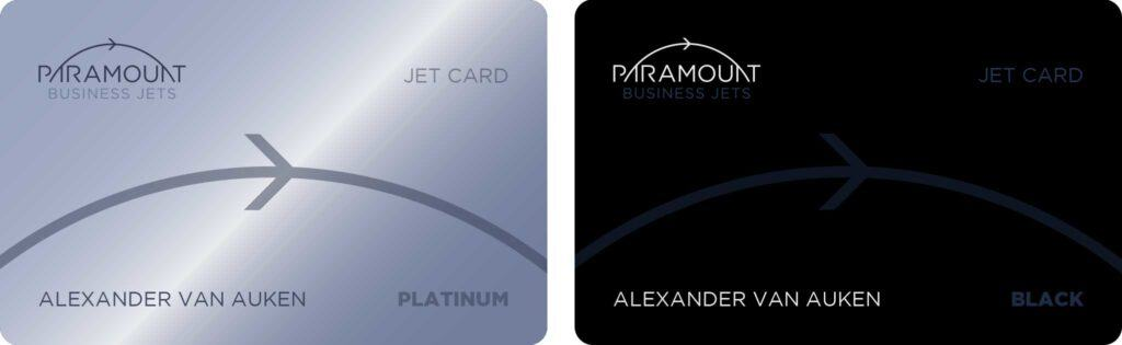 The Paramount Platinum and Black Jet Cards