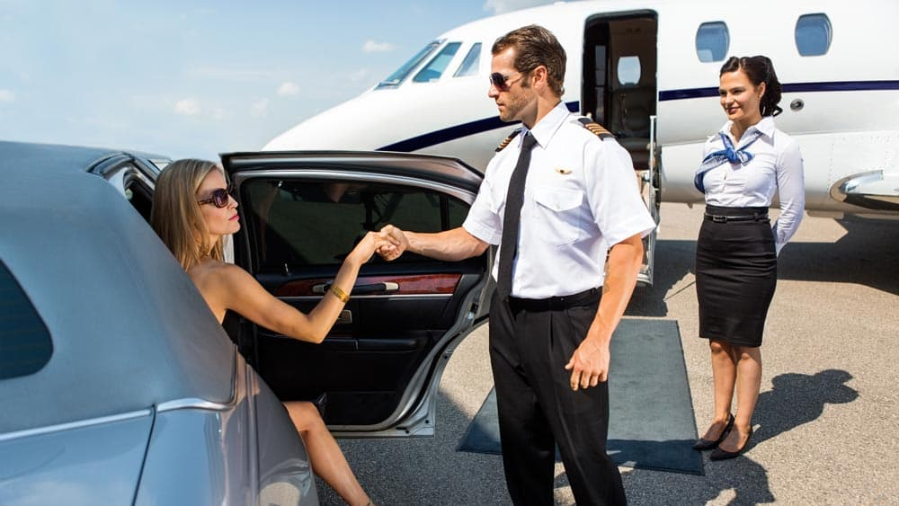Private Jet Meet and Greet