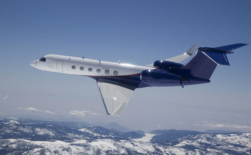 Gulfstream GV Corporate Jet