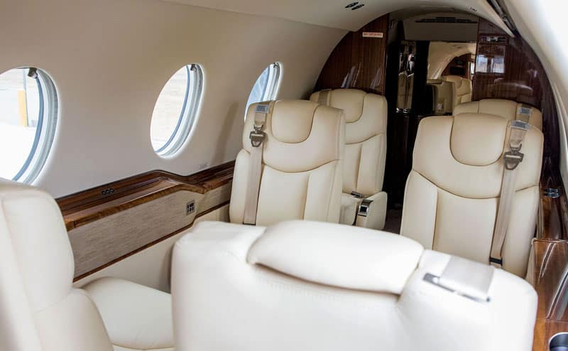 Hawker 400XPR Interior