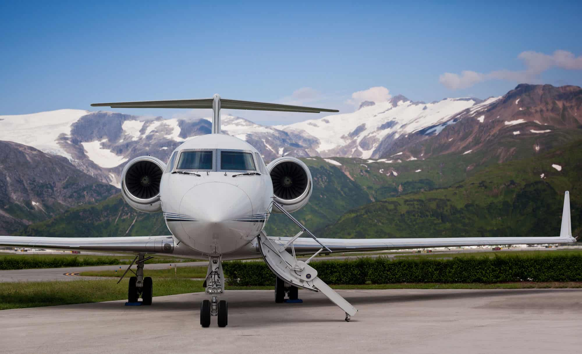 Christmas Day Private Jet Flight