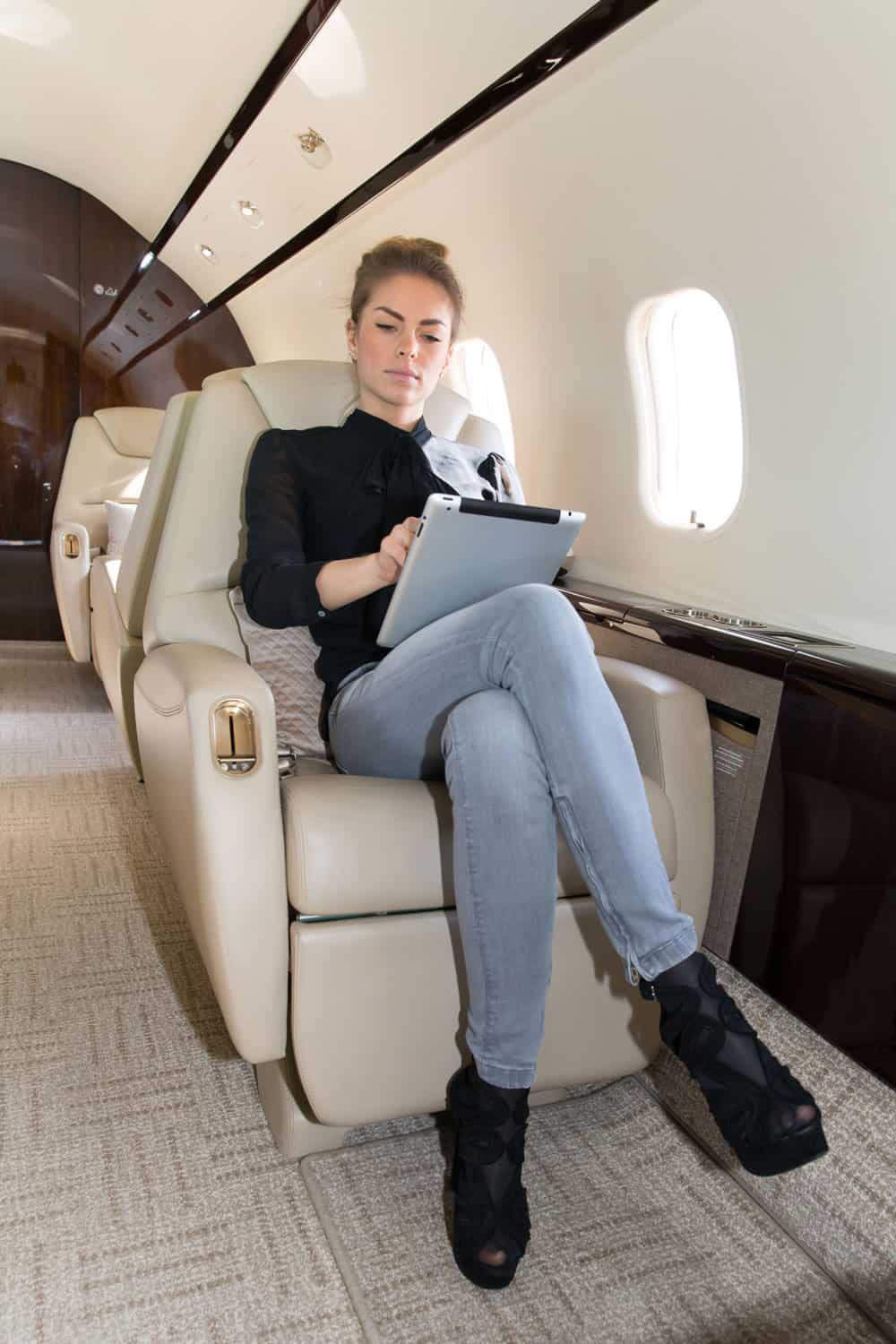 Dress code on private jets