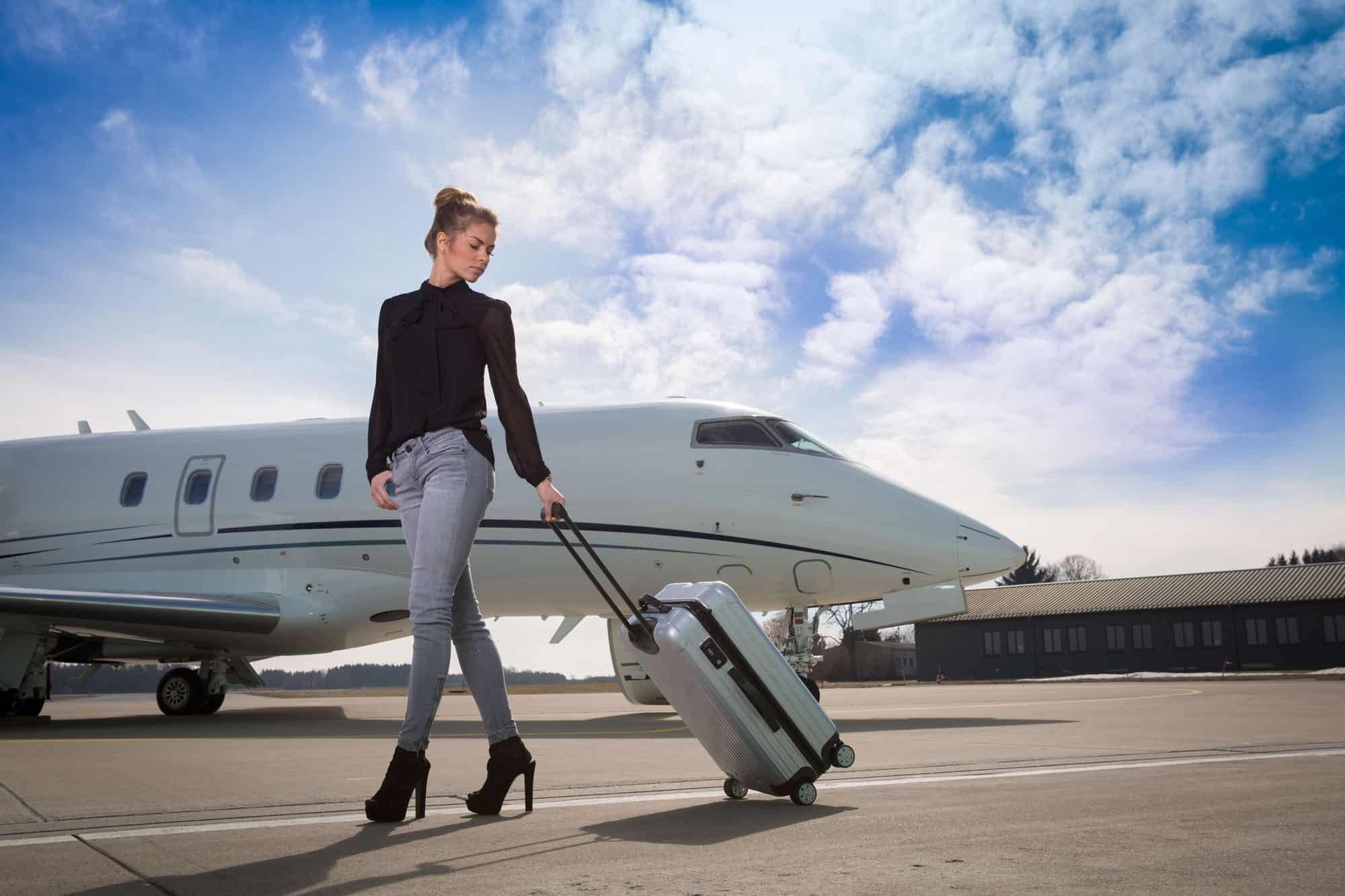 Private jet luggage restrictions