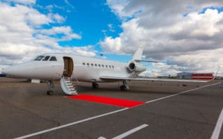 Red Carpet - Private Jet