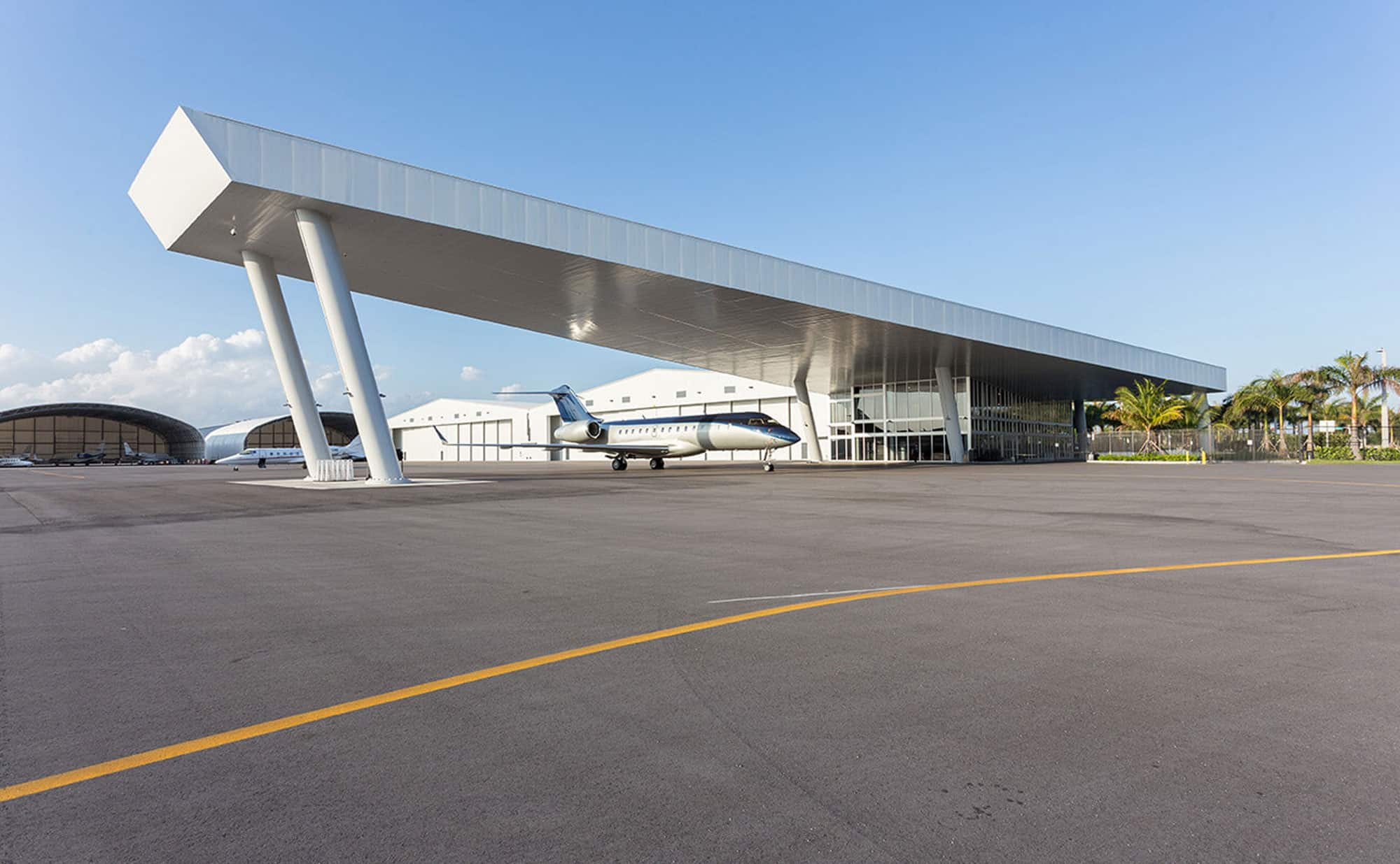 Fontainebleau Aviation FBO at Opa Locka Airport
