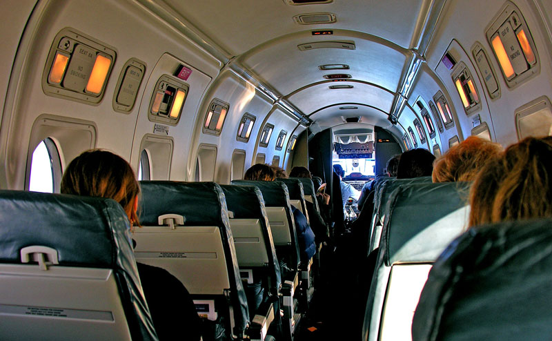 Beechcraft 1900D Interior
