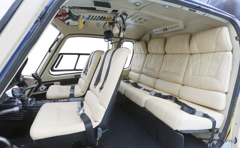 Airbus Helicopters AS355N Twinstar Interior