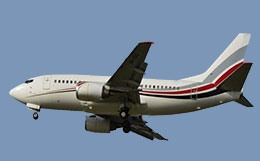 Boeing 737-500 VIP Private Jet Charter, Hire Costs, and