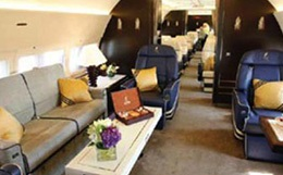 Boeing Business Jet 2 Interior