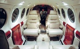 King Air B200 Interior