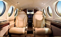 King Air B200GT Interior