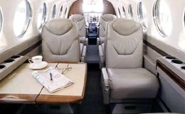 King Air B300 Interior