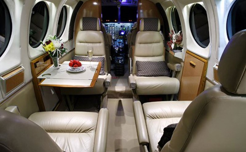 King Air E90 Interior
