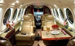 King Air 250 Interior