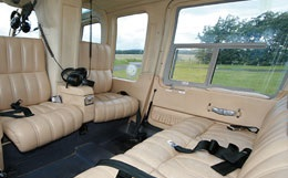 Bell Long Ranger Interior