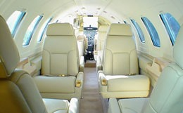 Citation II/SP Interior