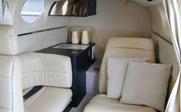 Cessna 421 Golden Eagle Interior