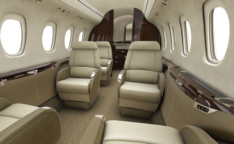 Citation Latitude Interior