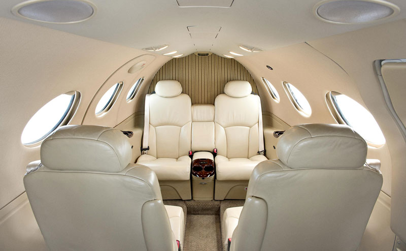 Citation Mustang Interior
