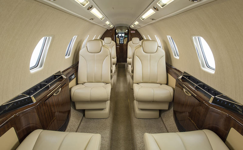 Citation Sovereign+ Interior