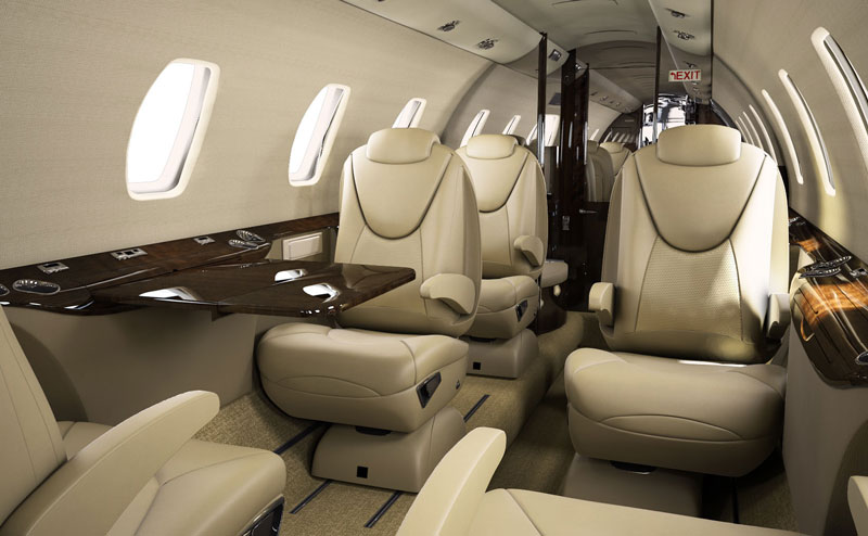Citation XLS+ Interior
