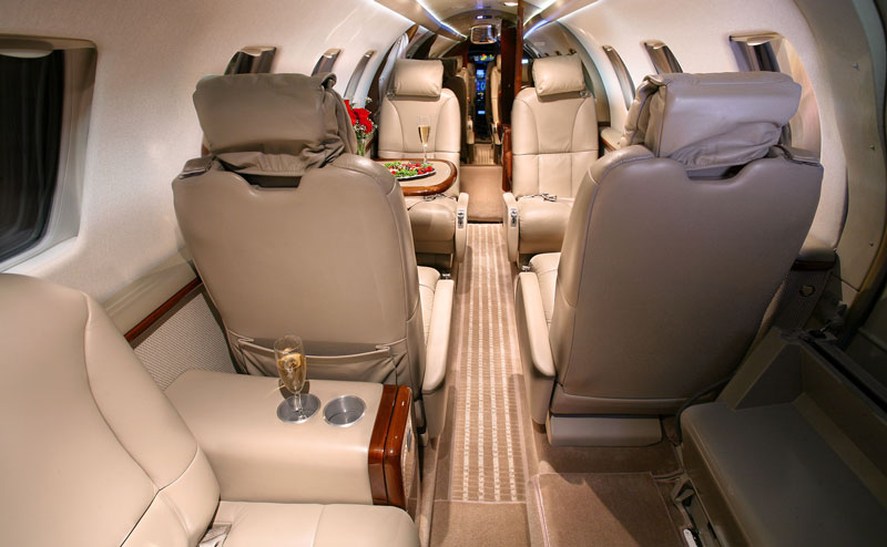 Citation CJ1+ Interior