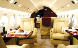Falcon 900DX Interior