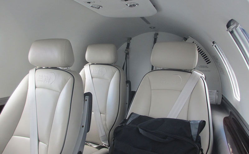 Eclipse 550 Interior