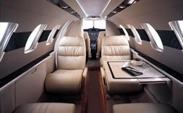 Gulfstream Turbo Commander Interior