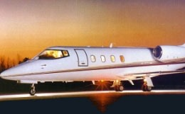 Learjet 55B Exterior