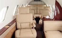 Learjet 24 Interior