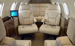 Learjet 25 Interior
