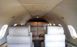 Learjet 28 Interior