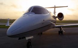Learjet 55 Exterior