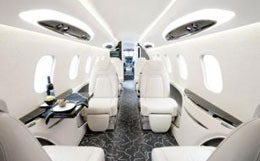 Learjet 85 Interior