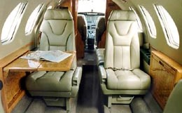 Swearingen Fairchild Merlin 300 Interior