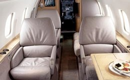 Short Brothers Skyvan Interior