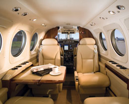 King Air C90GTx Interior